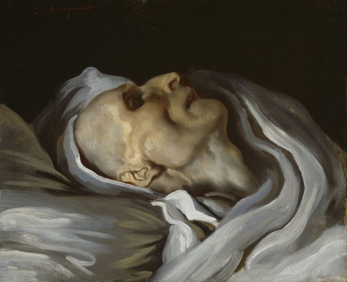 théodore géricault on his deathbed